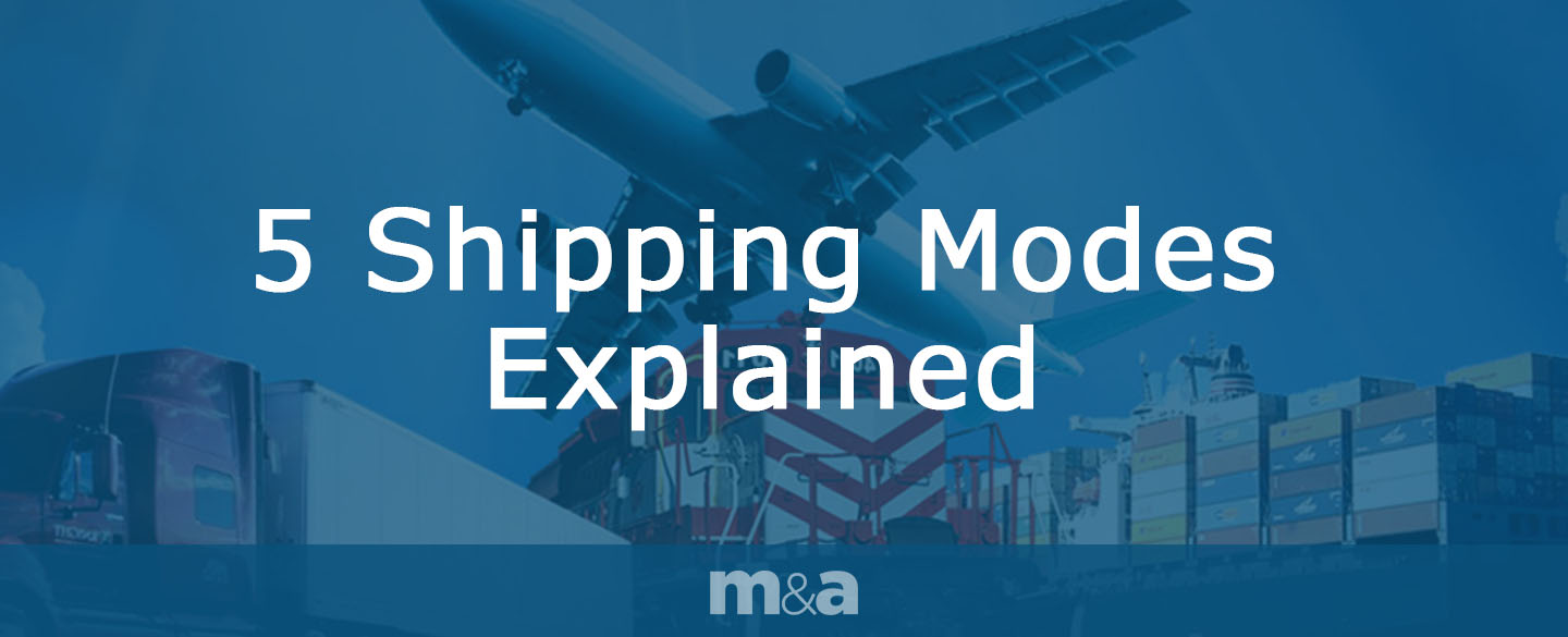 5 shipping modes